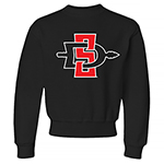 SD Spear Youth Crew Sweatshirt