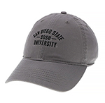 Full School Adjustable Cap - Gray