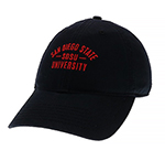 Full School Adjustable Cap - Black