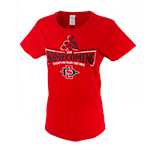 Women's 2019 Homecoming No Place Like SDSU Tee