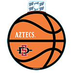 Aztec Basketball Icon Decal