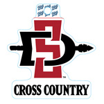 SD Spear Cross Country Decal