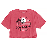 Aztecs Women's Crop Tee
