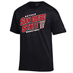 Aztecs Basketball Shirt - Black