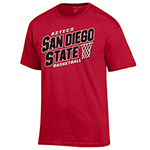 Aztecs Basketball Shirt - Red