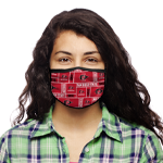 San Diego State Face Covering - Red