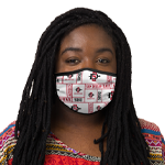 San Diego State Face Covering - White