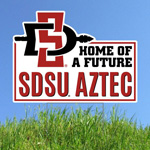Future SDSU Aztecs Yard Sign