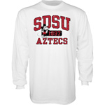SDSU x Disney SDSU Aztecs Long Sleeve Tee - White