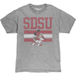 SDSU x Disney SDSU Football Mickey Tee - Gray
