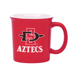 SD Spear and Aztecs Mug - Red
