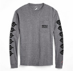 SDSU Aztecs Long Sleeve Tee - Gray