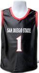 Toddler San Diego State Basketball Jersey - Black