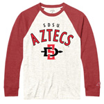 SDSU Aztecs Baseball Tee - Red