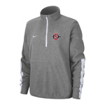 2020 Women's Nike Sideline SD Spear 1/2 Zip Jacket - Gray