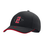 2020 Youth Nike Sideline SD Spear Swoosh Flex Cap - Black