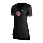2020 Women's Nike Sideline SD Spear Fan Top - Black