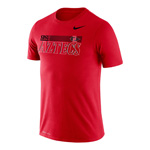 2020 Nike Sideline SDSU Aztecs Legend Tee - Red