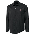 SD Spear Long Sleeve Dress Shirt - Black