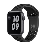 Apple Watch Nike+ Series6,  44MM Anthracite/Black Nike Sport Band - Space Gray Aluminum Case