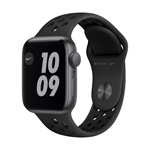 Apple Watch Nike SE GPS,  40MM Anthracite/Black Nike Sport Band - Space Gray Aluminum Case