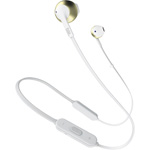 JBL Tune 205 Wireless Earbuds With Mic - White Champagne