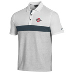 Under Armour SD Spear Mesh Bottom Polo - White