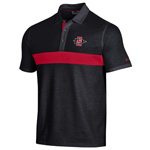 Under Armour SD Spear Mesh Bottom Polo - Black
