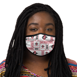 San Diego State Face Covering - White XS/S
