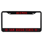 Alumni License Plate Frame- Black
