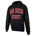 San Diego State Classic Pullover Sweatshirt-Black