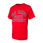 San Diego State University Classic Tee-Red