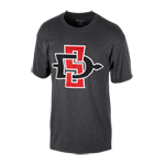 SD Spear Classic Tee-Charcoal