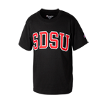 Youth Arch SDSU Tee-Black