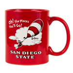 Dr. Seuss Mug- Red