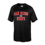 Under Armour San Diego State Tee-Black
