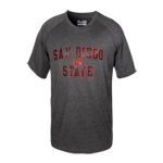 Under Armour San Diego State Tee-Charcoal