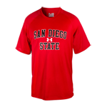 Under Armour San Diego State Tee-Red