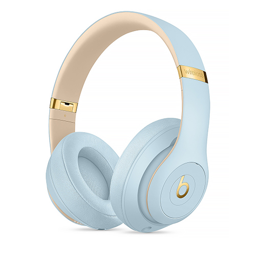 Shopaztecs Beats Studio3 Wireless Over Ear Headphones The Beats Skyline Collection Crystal Blue