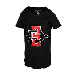 Infant SD Spear Onesie-Black
