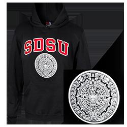 shopaztecs - SDSU Aztec Calendar Sweatshirt 1229cfc4f