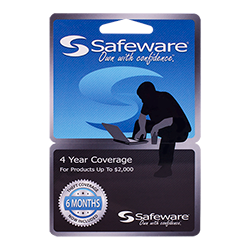Safeware 4 Year Extended Service Plan for Devices Up to $2000