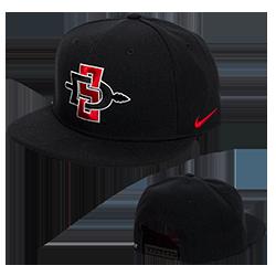 Nike SD Spear Flatbill Snapback Hat-Black 4da3d9cd812