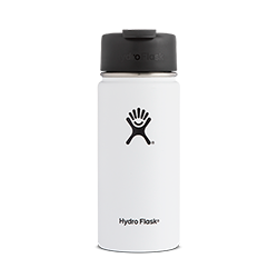 Hydro Flask 16 oz Wide Mouth Flip Lid-White