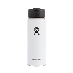 Hydro Flask 20 oz Wide Mouth Flip Lid-White