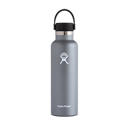Hydro Flask 21 oz Standard Mouth Flex Cap-Grey