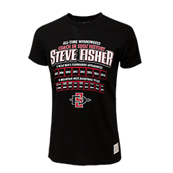 Steve Fisher Commemorative Tee -Black