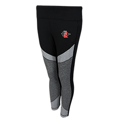 Women's Under Armour SD Spear Crop Legging-Charcoal
