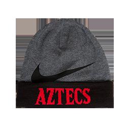 Nike Aztecs Dri Fit Beanie-Charcoal   Black d02b9d64584
