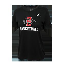 2a42b0c656de shopaztecs - Women s Nike Jordan SD Spear Basketball Tee